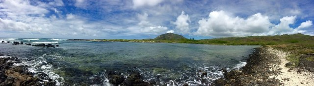 Picture from the Kaiwi Shoreline