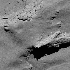 Comet from 5.7 km distance by narrow-angle camera