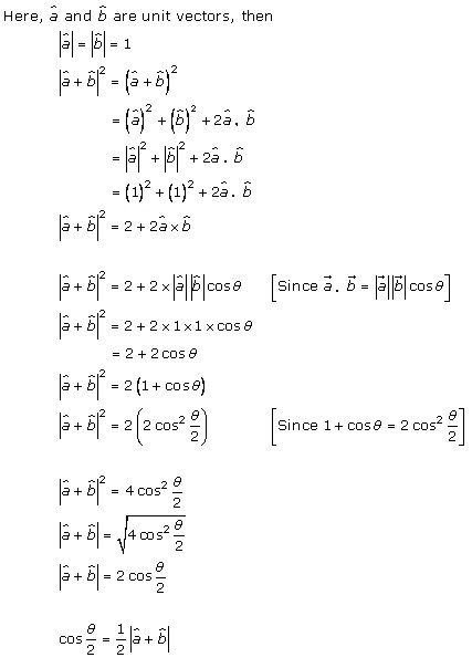 RD Sharma Class 12 Solutions Chapter 24 Scalar or Dot Product Ex 24.1 Q8-i
