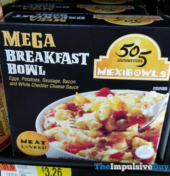 505 Southwestern Mexibowls Meat Lovers Mega Breakfast Bowl