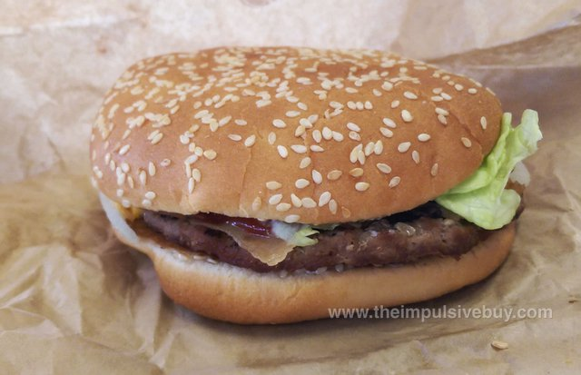 Burger King Pepperoni Bacon Whopper (Canada)