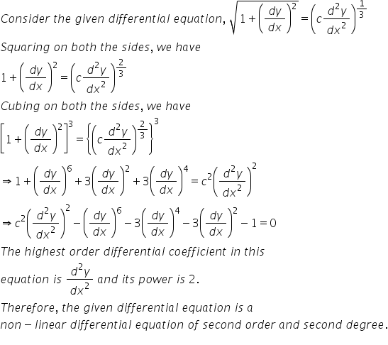 RD Sharma Class 12 Solutions Chapter 22 Differential Equations Ex 22.1 Q4