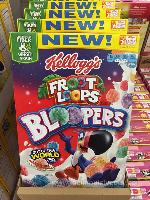 Kellogg's Froot Loops Bloopers Cereal