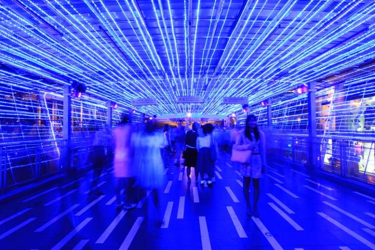 Thailand Kingdom of Light - Blue Light