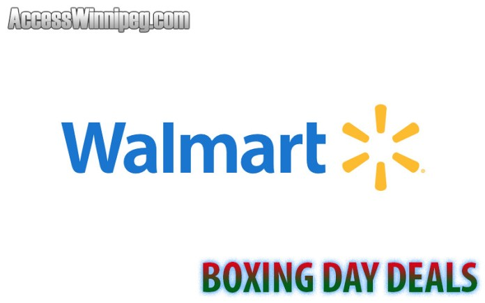 Walmart Canada Early Boxing Day / Boxing Week Deals 2019