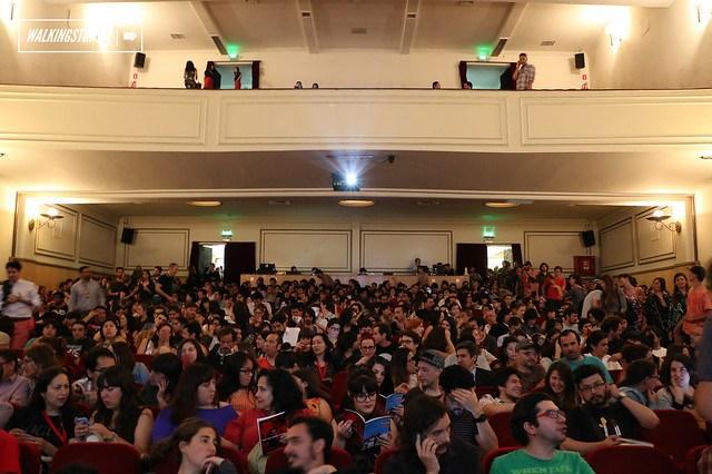Inauguración Festival IN-Edit 2014 en el Teatro Nescafé de las Artes de Santiago, Música para tus ojos / Fotos por Miguel Inostroza Godoy -04.12.2014-