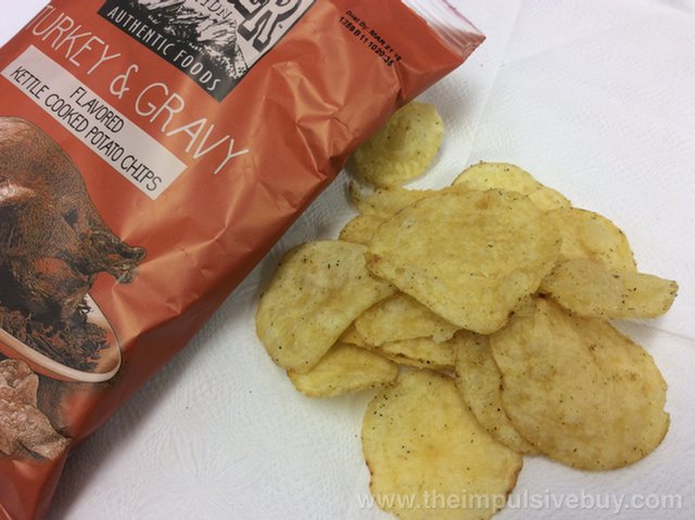 Boulder Canyon Thanksgiving Feast Potato Chips Turkey & Gravy