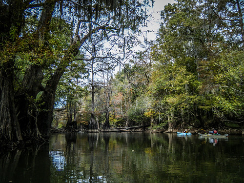 Savannah River from Stokes Bluff with LCU Nov 7, 2014, 4-18 PM Nov 8, 2014, 11-10 AM