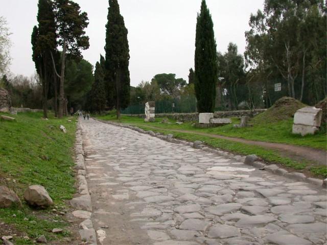283-CALZADA ROMANA-LA VÍA APIA-ITALIA