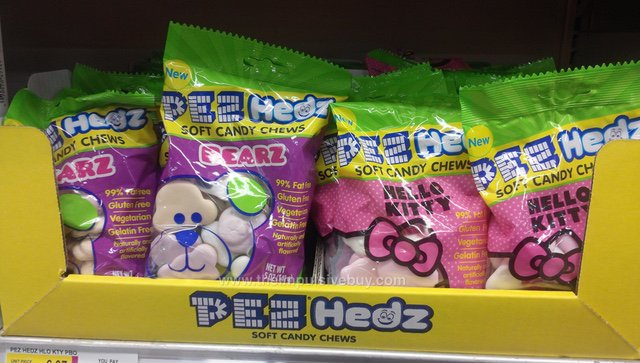 Pez Hedz Soft Candy Chews