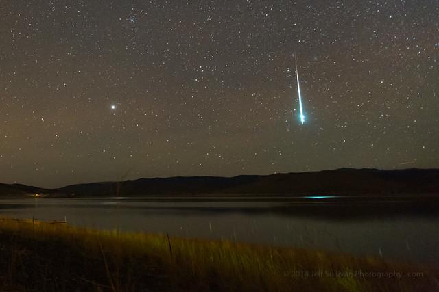 Geminid Meteor Fireball