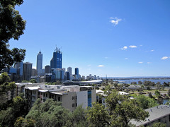 panoramic view from Kings Park