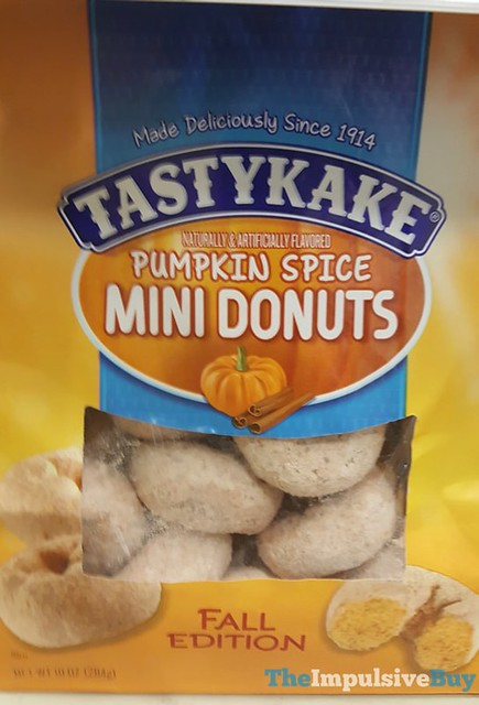 Tastykake Fall Edition Pumpkin Spice Mini Donuts