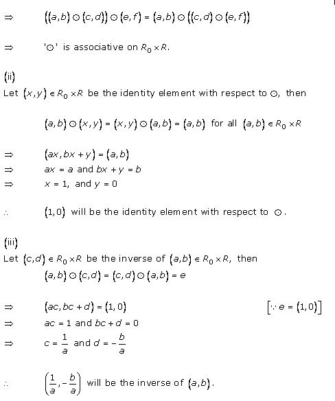 RD Sharma Class 12 Solutions Chapter 3 Binary Operations Ex 3.4 Q4-i