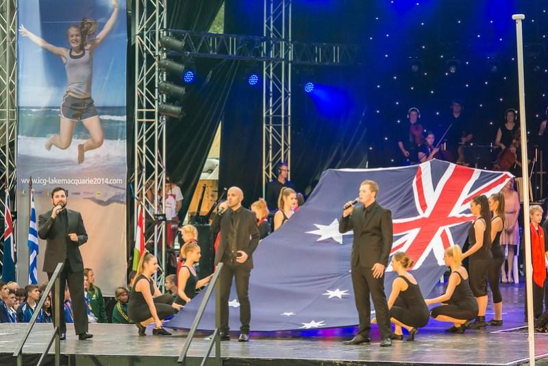 Opening Ceremony - Lake Macquarie ICG 2014_20141207_DSC5028