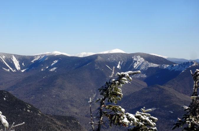 Mt. Flume Winter View of Bondcliff