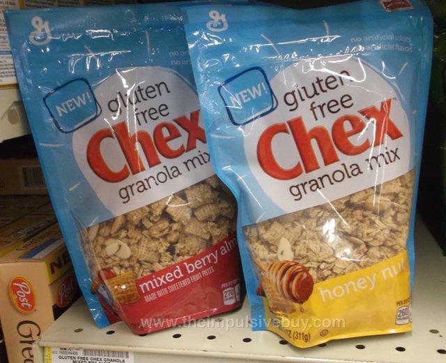 Gluten Free Chex Granola
