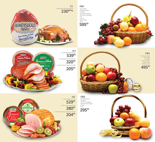 Christmas Baskets prices from SM Supermarket