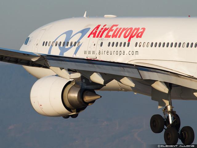 Air Europa Airbus A330-202 cn 733 EC-JPF