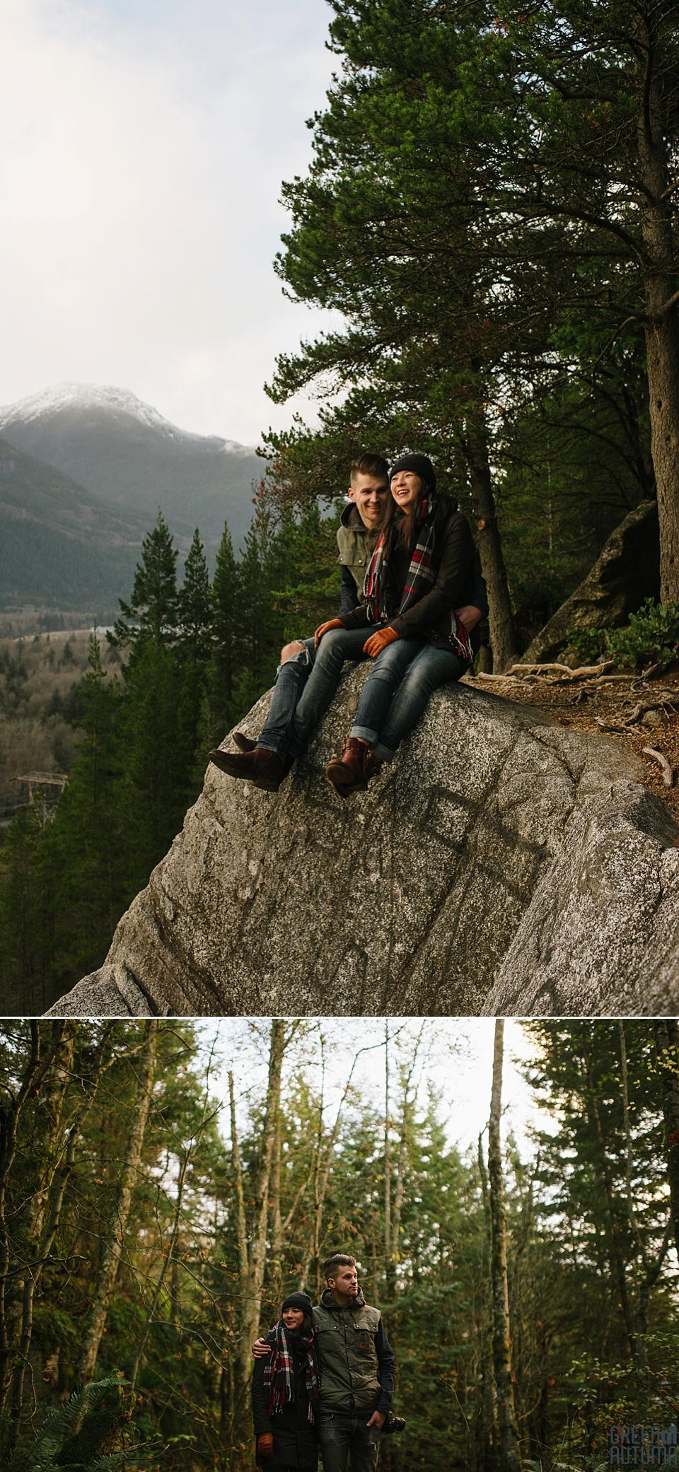 Squamish Smoke Bluffs Park Engagement Photography_0016