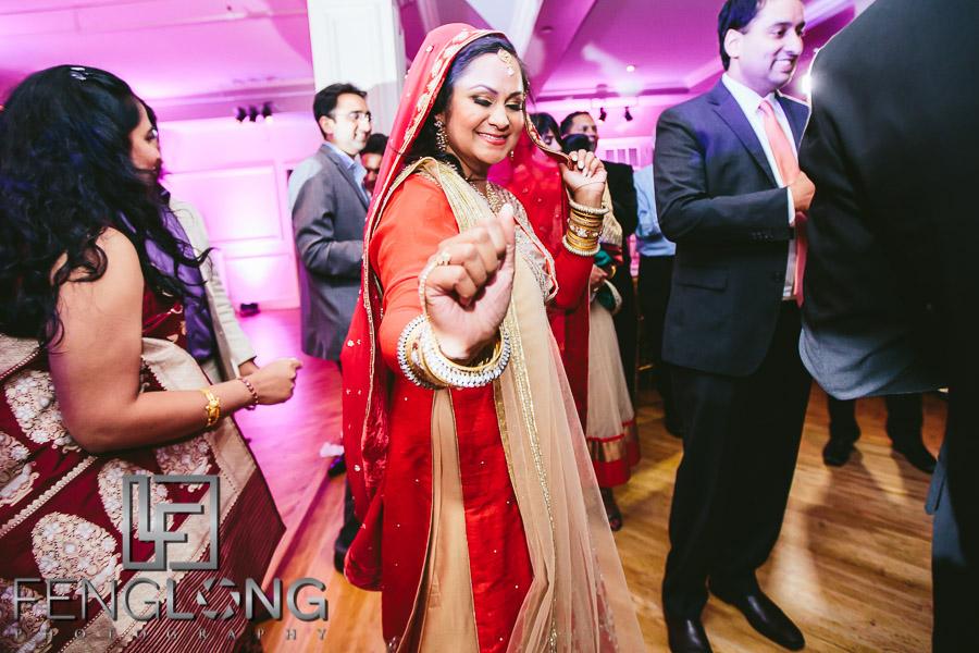 New York City Muslim Hindu Fusion Indian Wedding   The Manhattan Penthouse on 5th Avenue