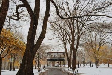 Kings Square Snowy Fall