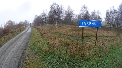 Vägskylt Harphult