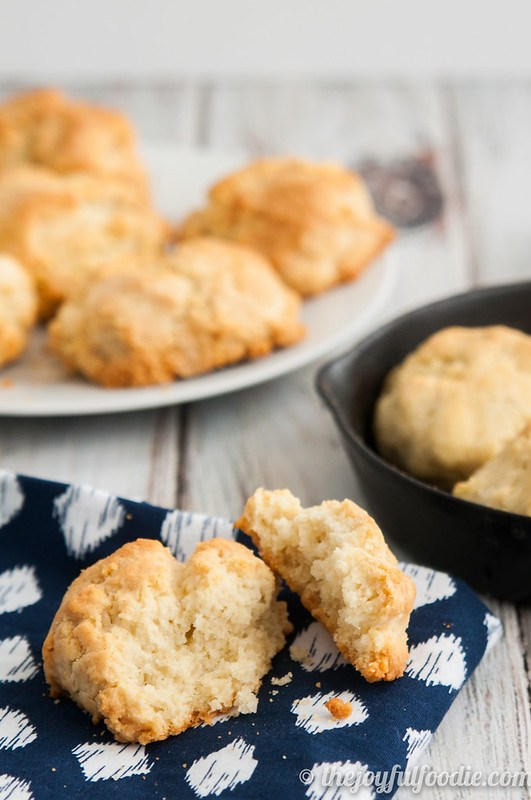 Food Processor Drop Biscuit Recipe