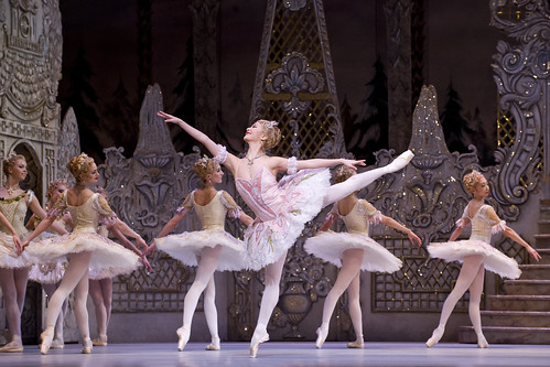 Ballet Christmas Dance Dancing The Nutcracker Royal Ballet Royal Opera House London Theatre Festive December