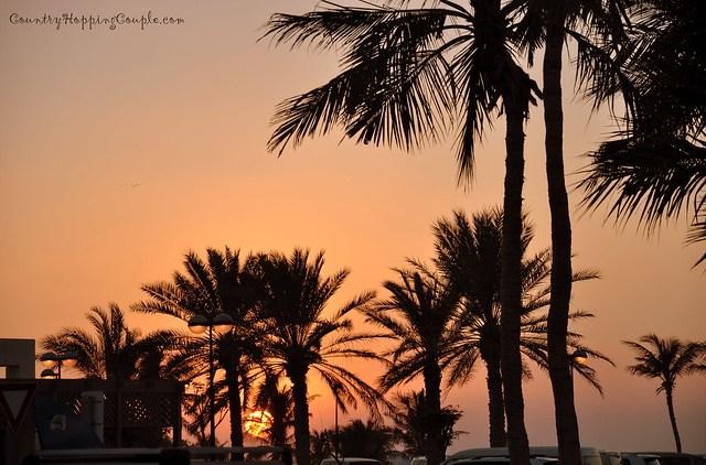 Sunset Al Mumzar beach 3