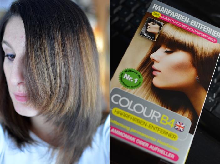 Project ME 14.12. Haare Colour B4 Haarfarben Entferner