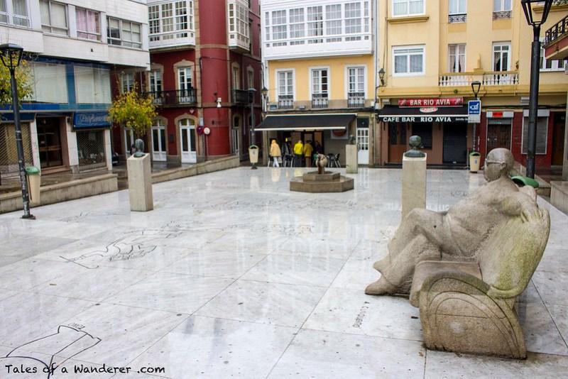 A CORUÑA - Plaza del Humor