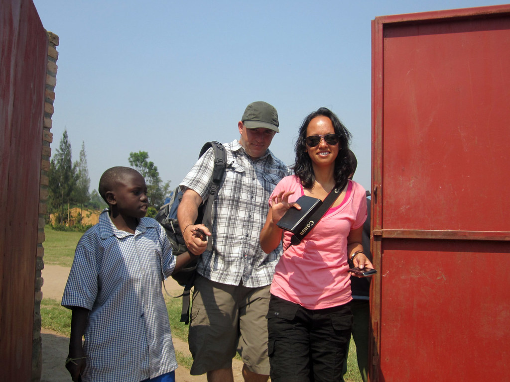OUR FIRST VISIT TO LES ENFANTS DE DIEU IN RWANDA.