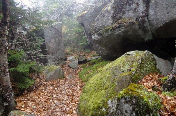 Puzzle Mountain Rocks