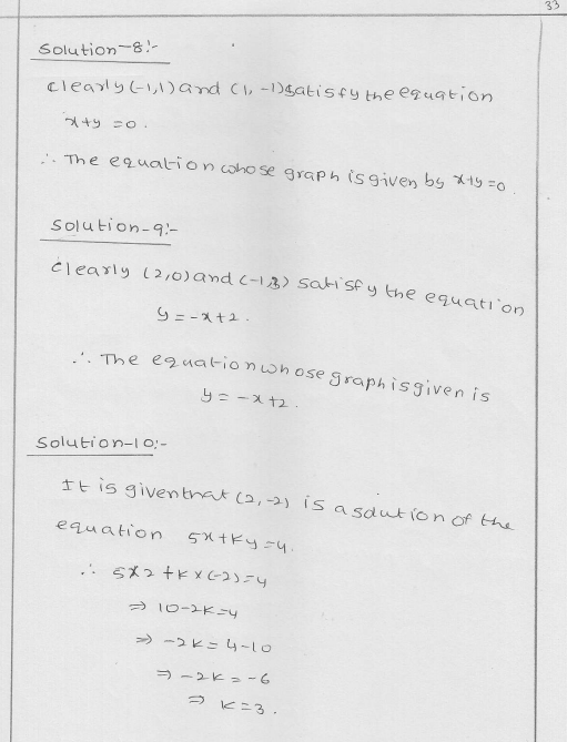 RD Sharma Class 9 Solutions Chapter 13 Linear Equations in Two Variables 34