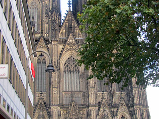 Cologne Cathedral-Closeup