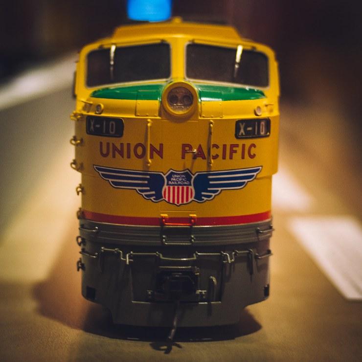 Union Pacific Model Train