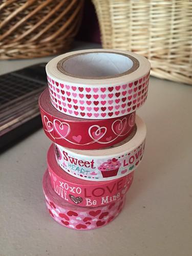 Valentine Washi Tape