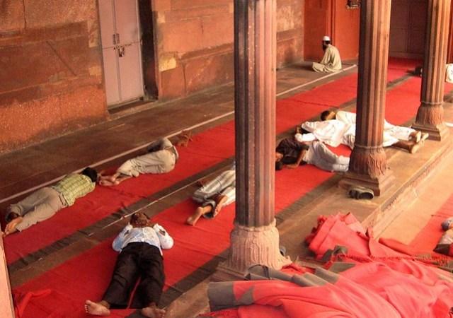 Que ver en Delhi Jama Masjid 2