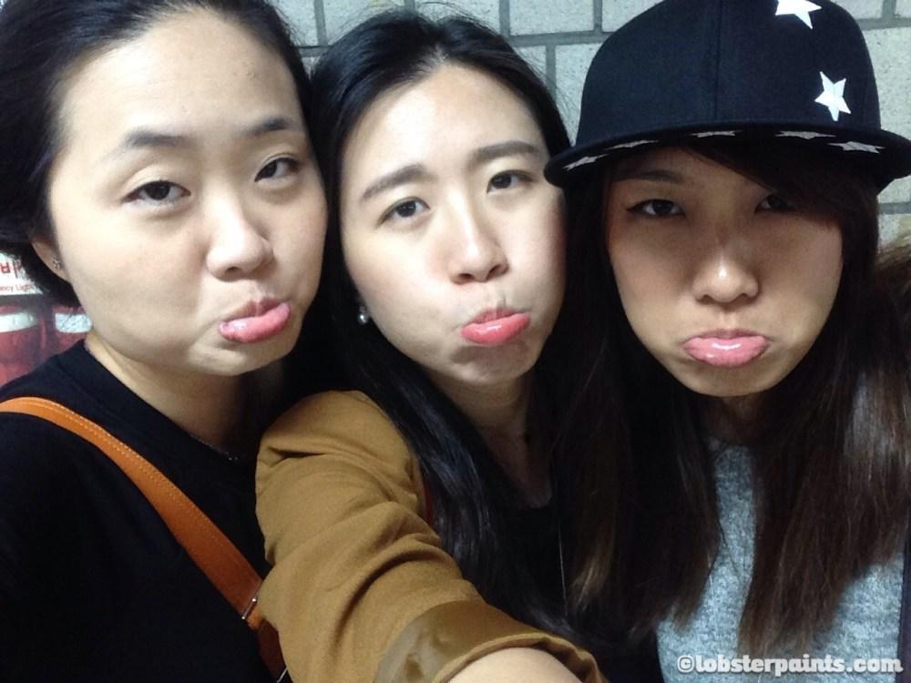 1 Oct 2014: Bye bye Lyn :(   Seoul, South Korea