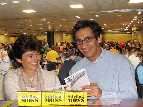 Danilo e Manuela Castellarin, organizzatori Borsa di Verona