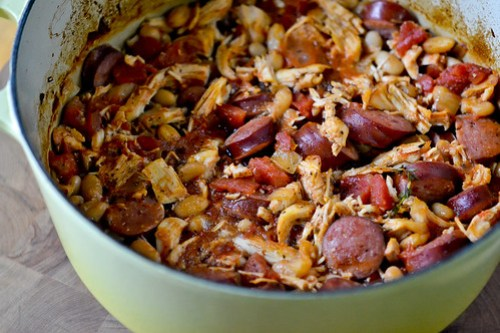 Chicken & Sausage Cassoulet-6
