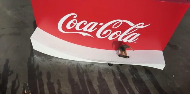 Riding Coke