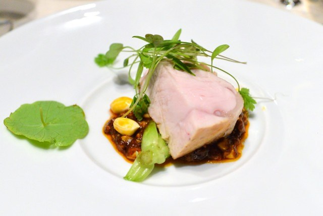veal with peanut chili sauce