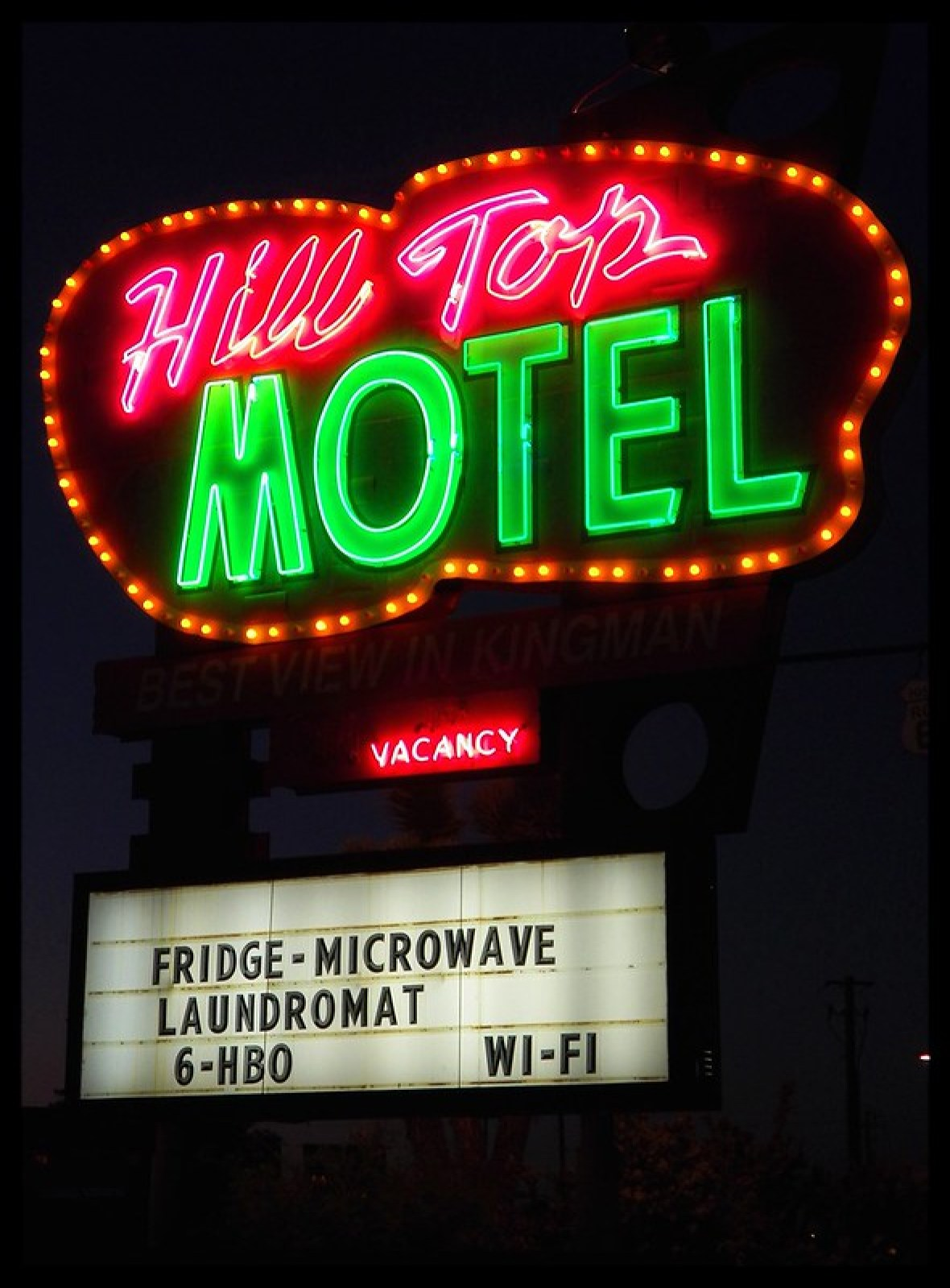 Hill Top Motel - 1901 East Andy Devine Avenue, Kingman, Arizona U.S.A. - August 22, 2014