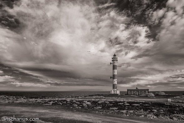 Lighthouse near Abades #3 - Nikon 1 V1 - Infrared 700nm