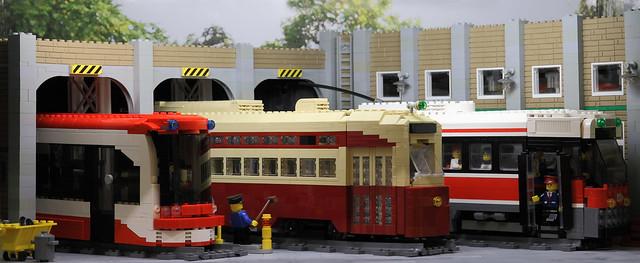 Lego Toronto Transit