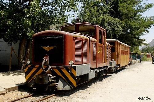 Tren El Melocotón - Proyecto Ave Fénix - Cajón del Maipo