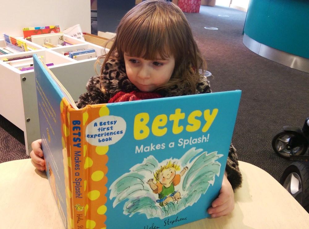Betsy reads Betsy
