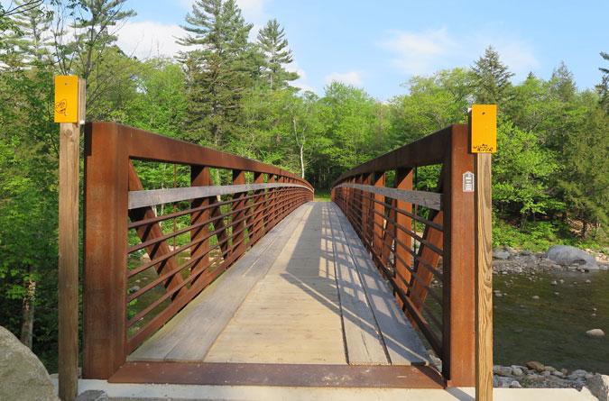 Wild River Suspension Bridge & Wild River Wilderness u0026 Carter-Moriah Range Loop Hike | Northeast ...